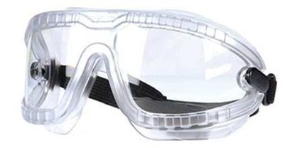 3m Lexa Splash Goggle Gear